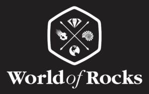 World of Rocks Logo