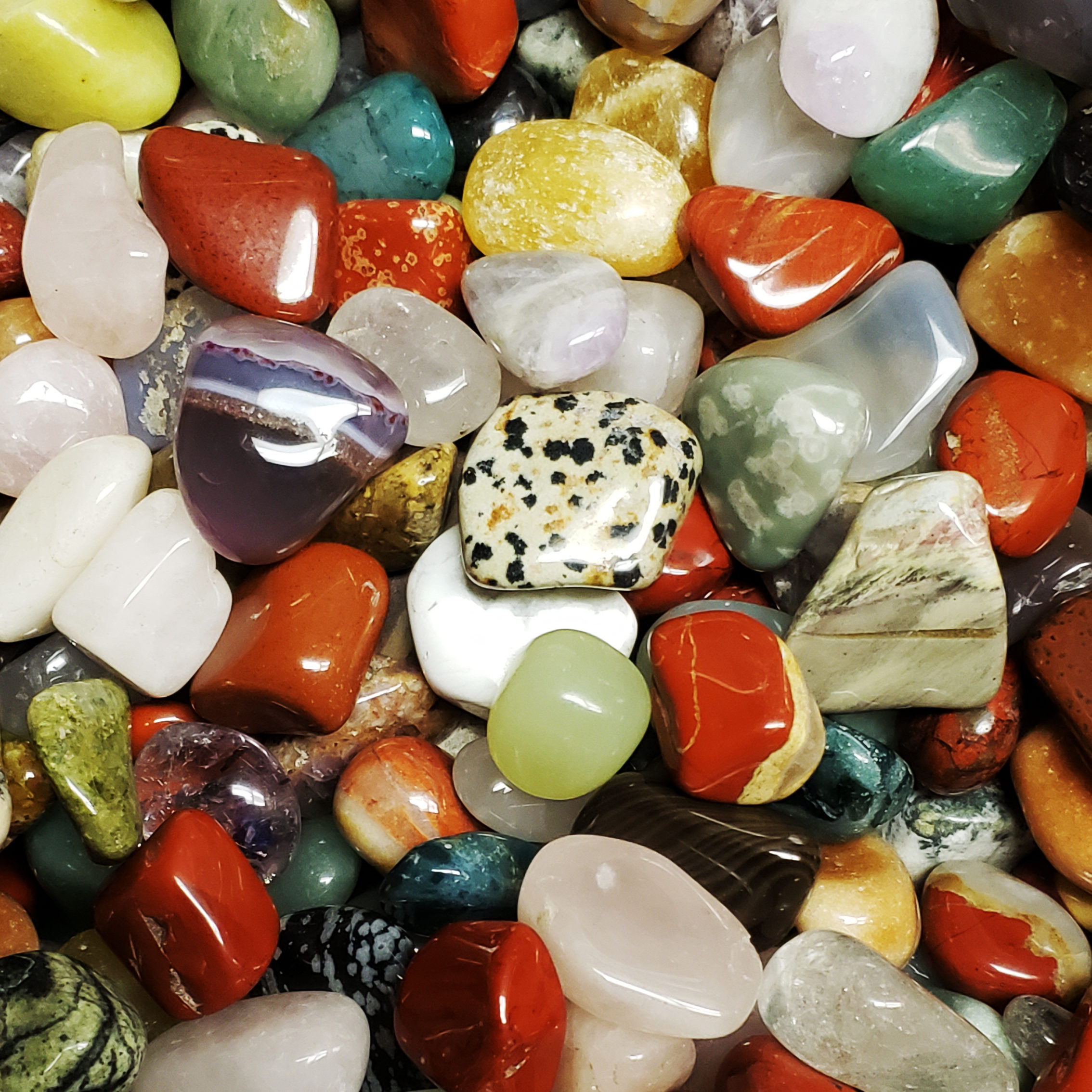 Colorful Tumbled Stones
